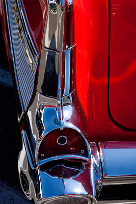 1957 Chevy Bel Air Custom Hot Rod Poster by David Patterson