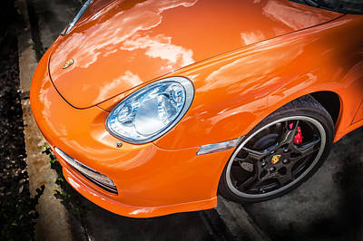 2008 Porsche Limited Edition Orange Boxster  Poster by Rich Franco