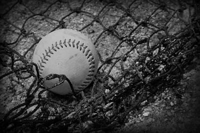Baseball Poster by Kelly Hazel