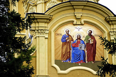 Cathedral Of Saints Peter And Paul - St Petersburg - Russia Poster by Jon Berghoff