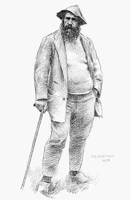 Claude Monet (1840-1926) Poster by Granger
