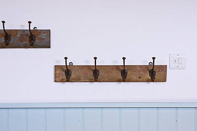 Coat Hooks Poster by Tom Gowanlock