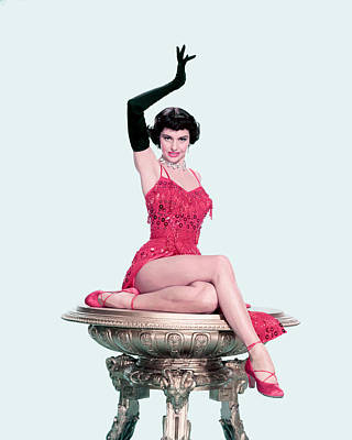Cyd Charisse Poster by Silver Screen