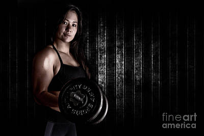 Fitness Model Poster by Jt PhotoDesign