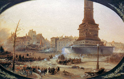 France Revolution, 1848 Poster by Granger