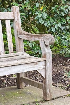 Garden Bench Poster by Tom Gowanlock