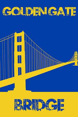 Golden Gate Bridge Poster by Joe Hamilton