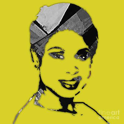 Jennifer Hudson Collection Poster by Marvin Blaine