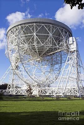 Lovell Radio Telescope Poster by Mark Williamson