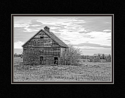 Missouri Barn At Sunrise Poster by Charles Feagans