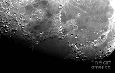Moon Poster by John Chumack