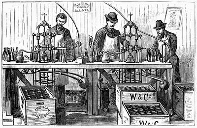New York Wine Industry Poster by Granger