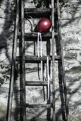 Red Balloon Poster by Joana Kruse