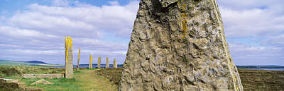 Ring Of Brodgar, Orkney Islands Poster by Panoramic Images