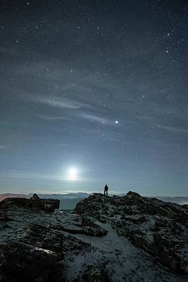 Stargazing Poster by Tommy Eliassen
