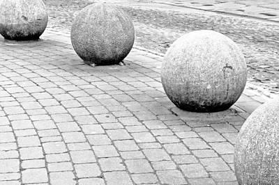 Stone Balls Poster by Tom Gowanlock