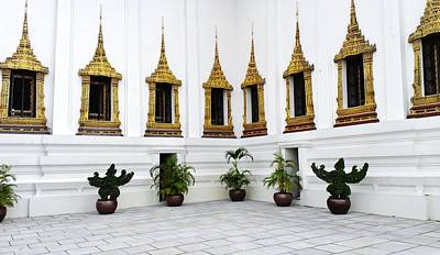 Thai Kings Grand Palace Poster by Sumit Mehndiratta