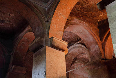 The Rock-hewn Churches Of Lalibela Poster by Martin Zwick