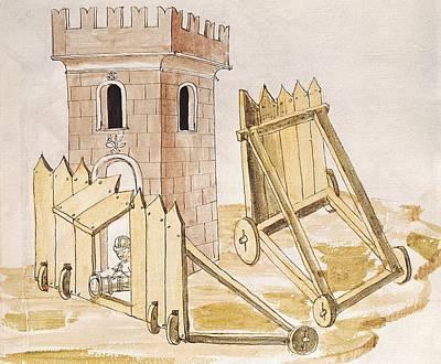 Valturio, Roberto 1405-1475. De Re Poster by Everett