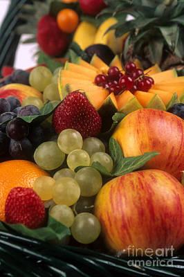 Variety Of Fruits. Poster by Bernard Jaubert