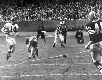 Y.a. Tittle Poster by Retro Images Archive