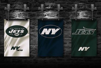 New York Jets Poster by Joe Hamilton