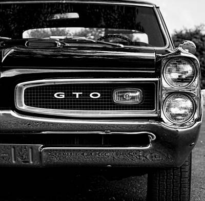 1966 Pontiac Gto Poster by Gordon Dean II