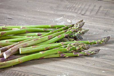 Asparagus Poster by Tom Gowanlock