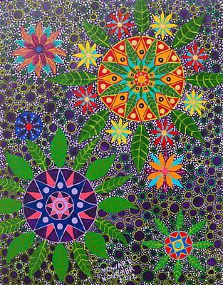 Ayahuasca Vision Poster by Howard Charing