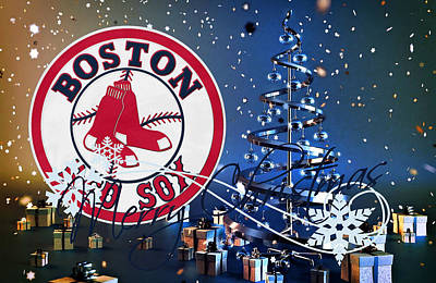 Boston Red Sox Poster by Joe Hamilton