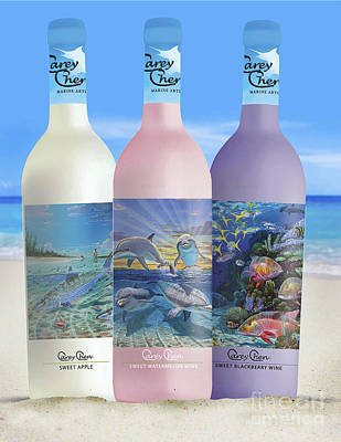 Carey Chen Fine Art Wines Poster by Carey Chen