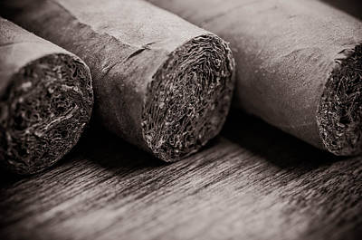 Cigars Poster by Brandon Bourdages