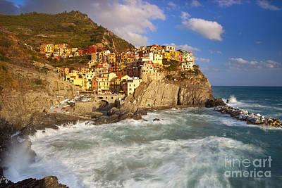 Cinque Terre Poster by Brian Jannsen