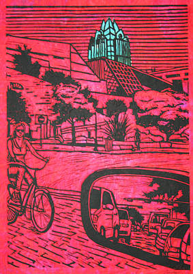 City Hall Poster by William Cauthern