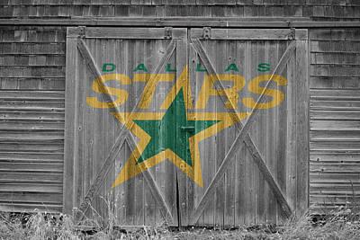 Dallas Stars Poster by Joe Hamilton