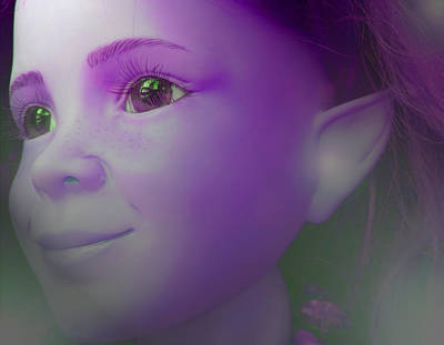 Elves-child Poster by Ramon Labusch