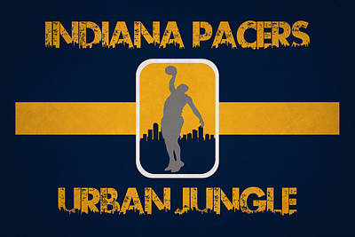 Indiana Pacers Poster by Joe Hamilton