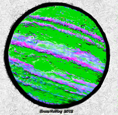 Jupiter In Many Colors Poster by Bruce Nutting