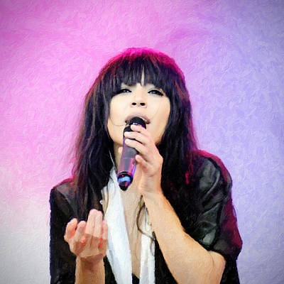 Loreen Poster by Toppart Sweden