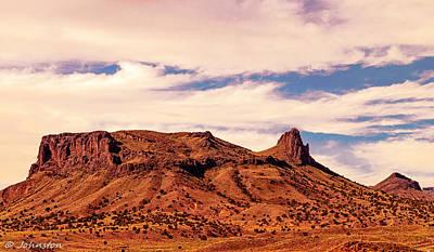 Navajo Nation Series Along 87 And 15 Poster by Bob and Nadine Johnston