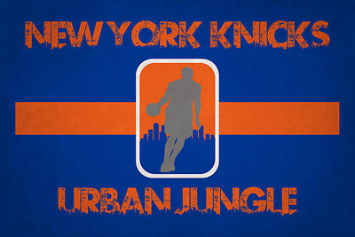 New York Knicks Poster by Joe Hamilton