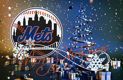 New York Mets Poster by Joe Hamilton