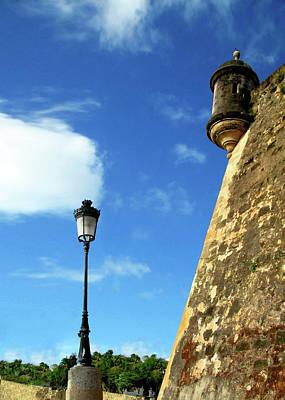 Puerto Rico, San Juan, Fort San Felipe Poster by Miva Stock