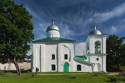 Russia, Pskovskaya Oblast, Stary Poster by Walter Bibikow