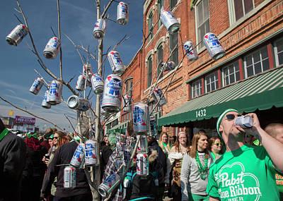 St. Patrick's Day Celebrations Poster by Jim West