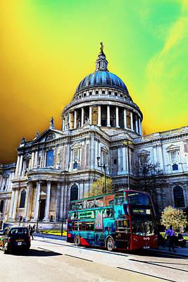 St Pauls Cathedral London Art Poster by David Pyatt