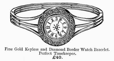 Watch Bracelet, 1891 Poster by Granger