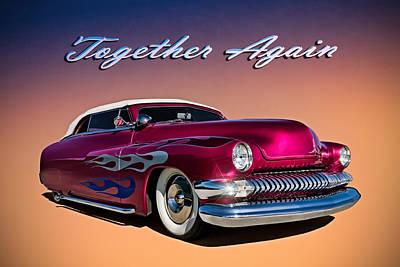 '51 Mercury Poster by Douglas Pittman
