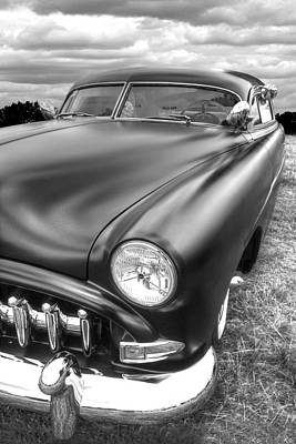 52 Hudson Pacemaker Coupe Vertical Poster by Gill Billington