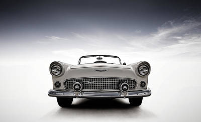 56 Thunderbird Poster by Douglas Pittman